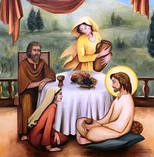 Sainte marthe sainte marie saint lazare 1
